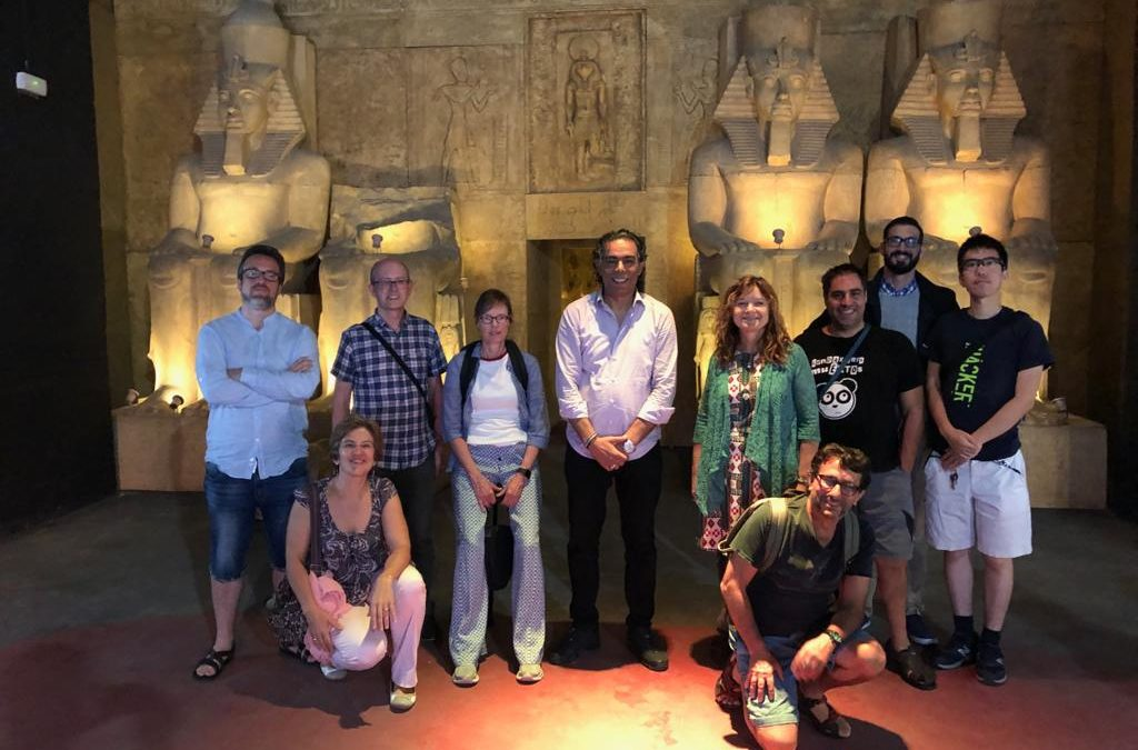 Exhibición de Egipto