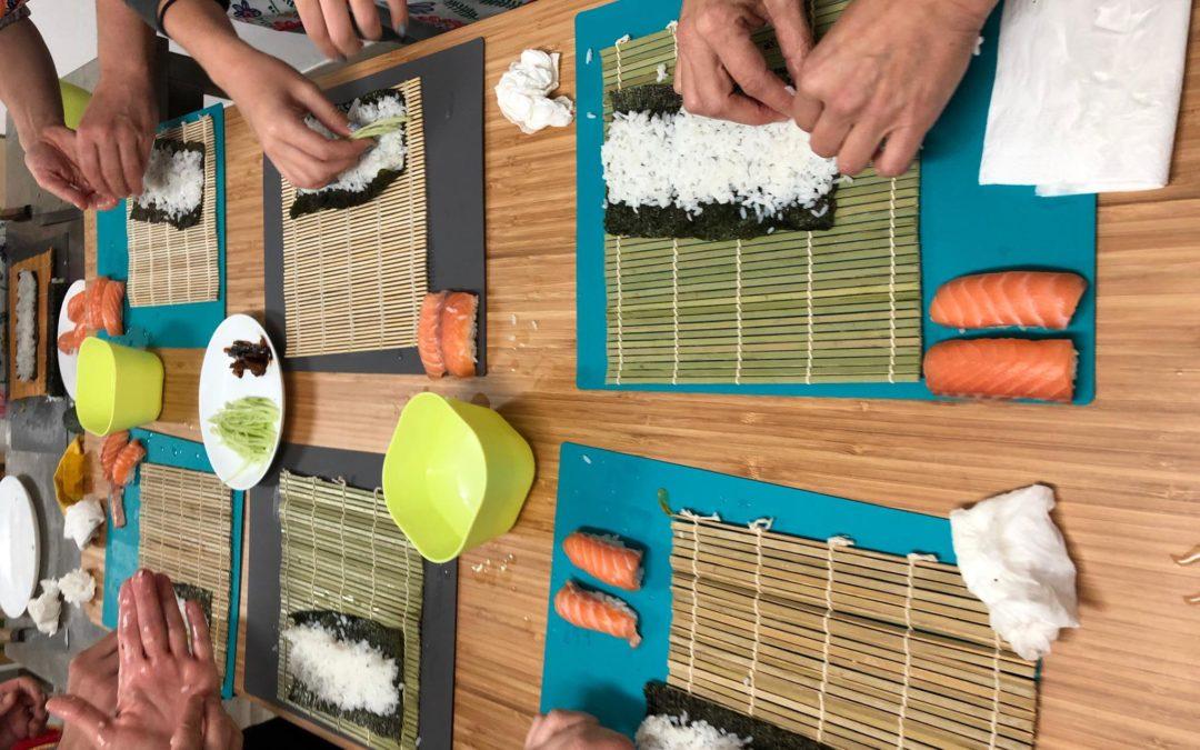 Clase de sushi adultos