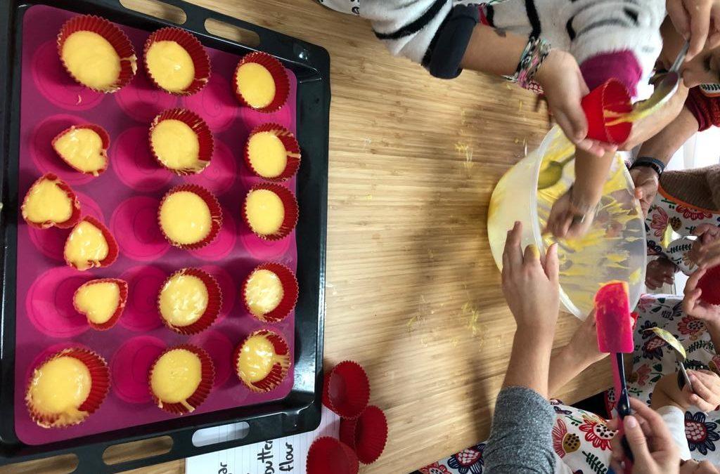 Muffins con familias