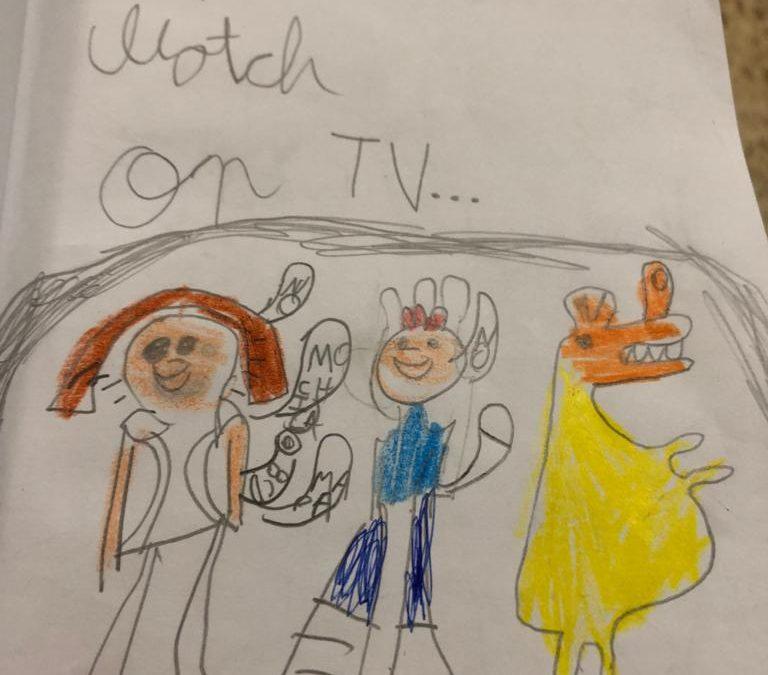TV en inglés